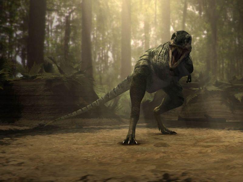Dinosaurio Deinonicus
