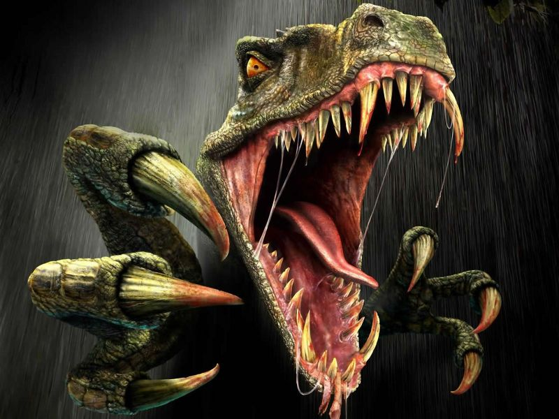 Fondos de Pantalla / Dinosaurios / Dinosaurio Rex