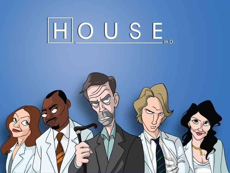 Fondos De Pantalla De Cartoon Dr House Wallpapers De