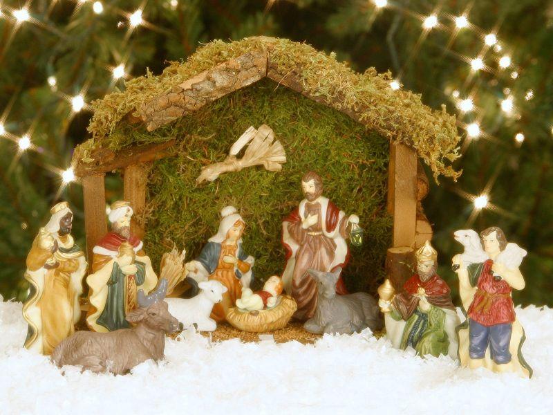 Fondos de Pantalla / Navidad / Nacimiento Jesus