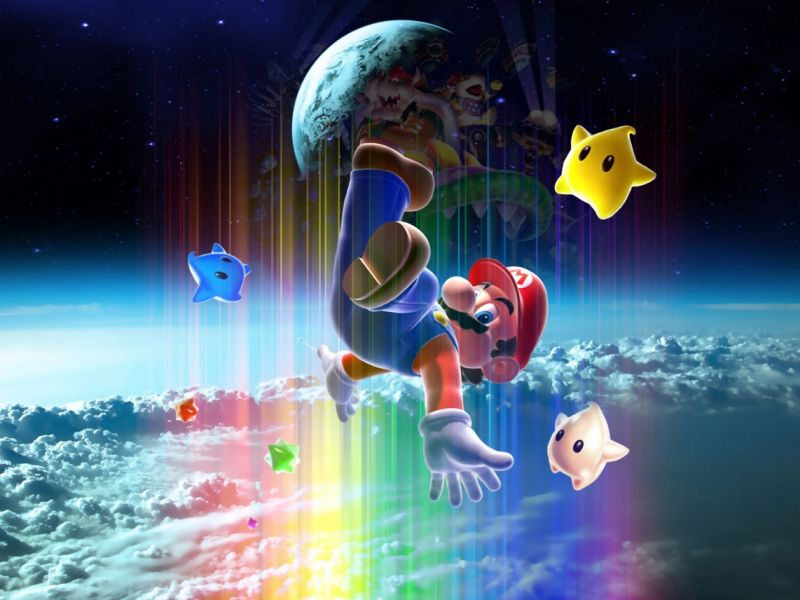 Fondos De Pantalla De Mario Galaxy Wallpapers De Mario Galaxy
