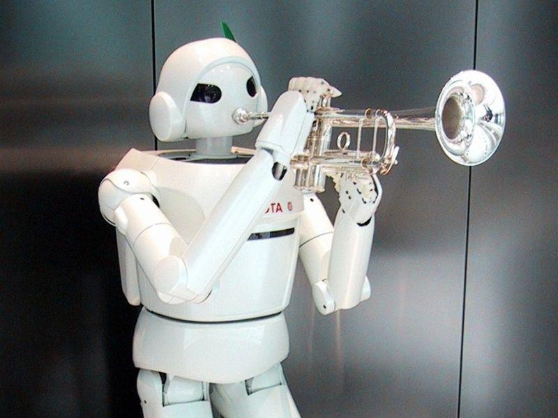 Fondos De Pantalla De Robot Musico Wallpapers De Robot Musico