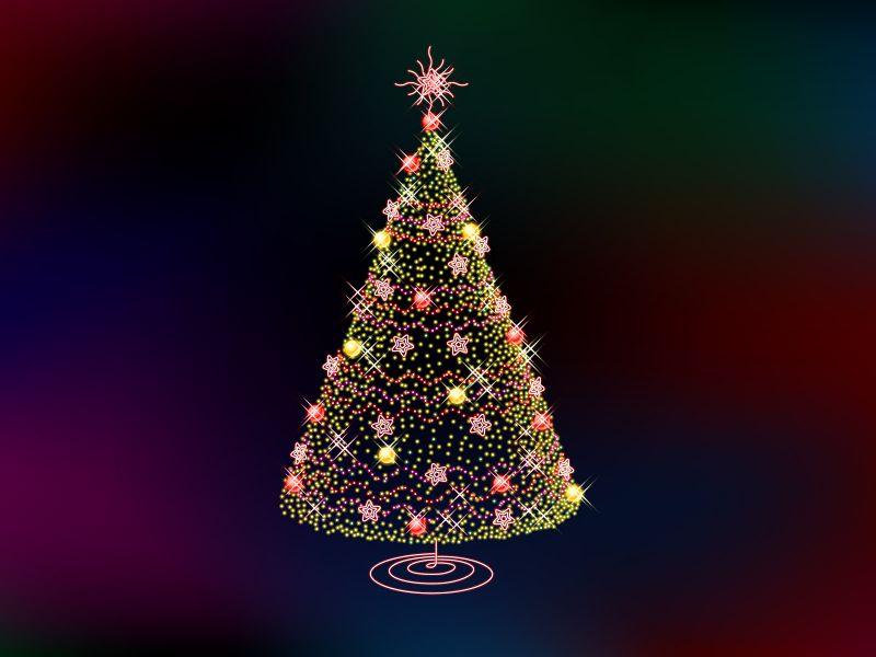 Fondos de Pantalla / Navidad / Arbolito de Navidad