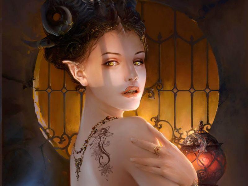 Mujer Elfa