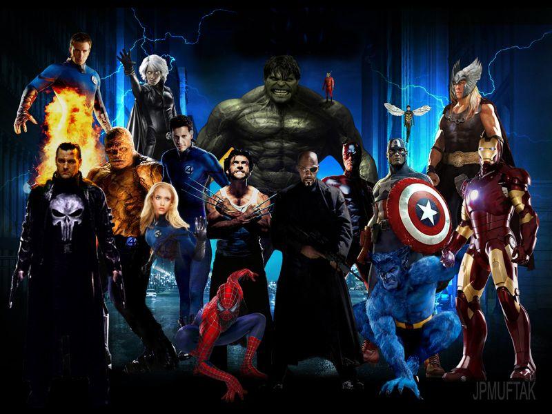 Fondos de Pantalla / Marvel y DC / Comics Marvel