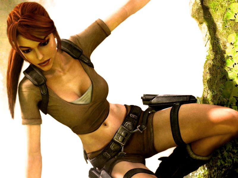 Lara Croft Bella