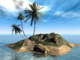 3D Isla Tropical