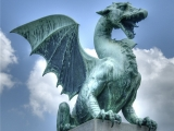 Estatua de Dragon