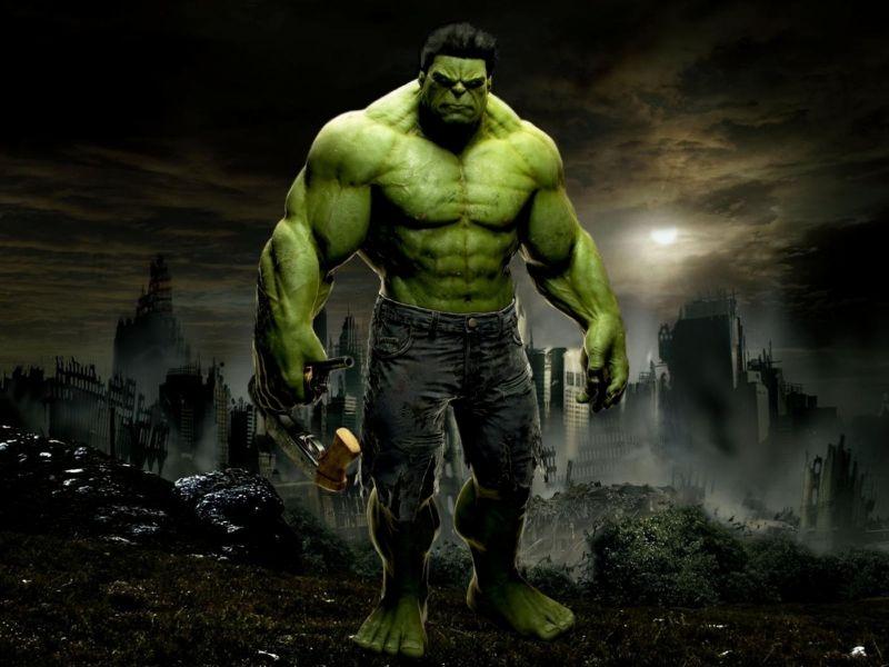 Fondos de Pantalla / Marvel y DC / Hulk