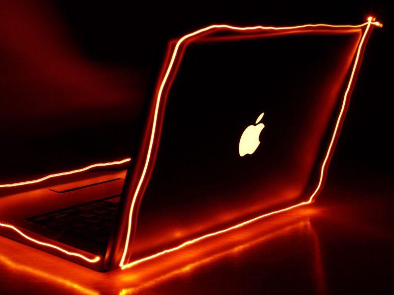 Fondos de pantalla naranja apple