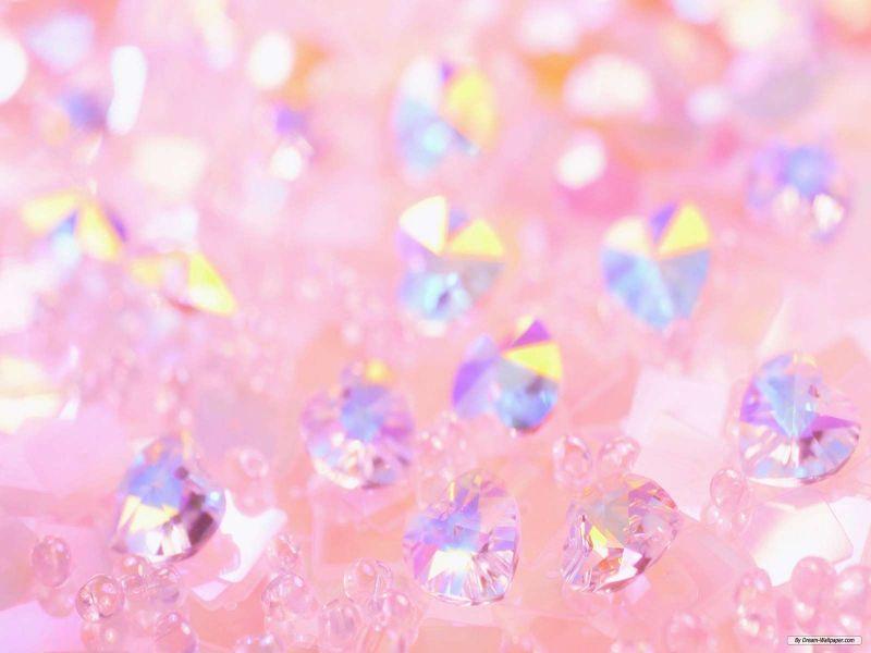 Fondo pantalla diamante rosa